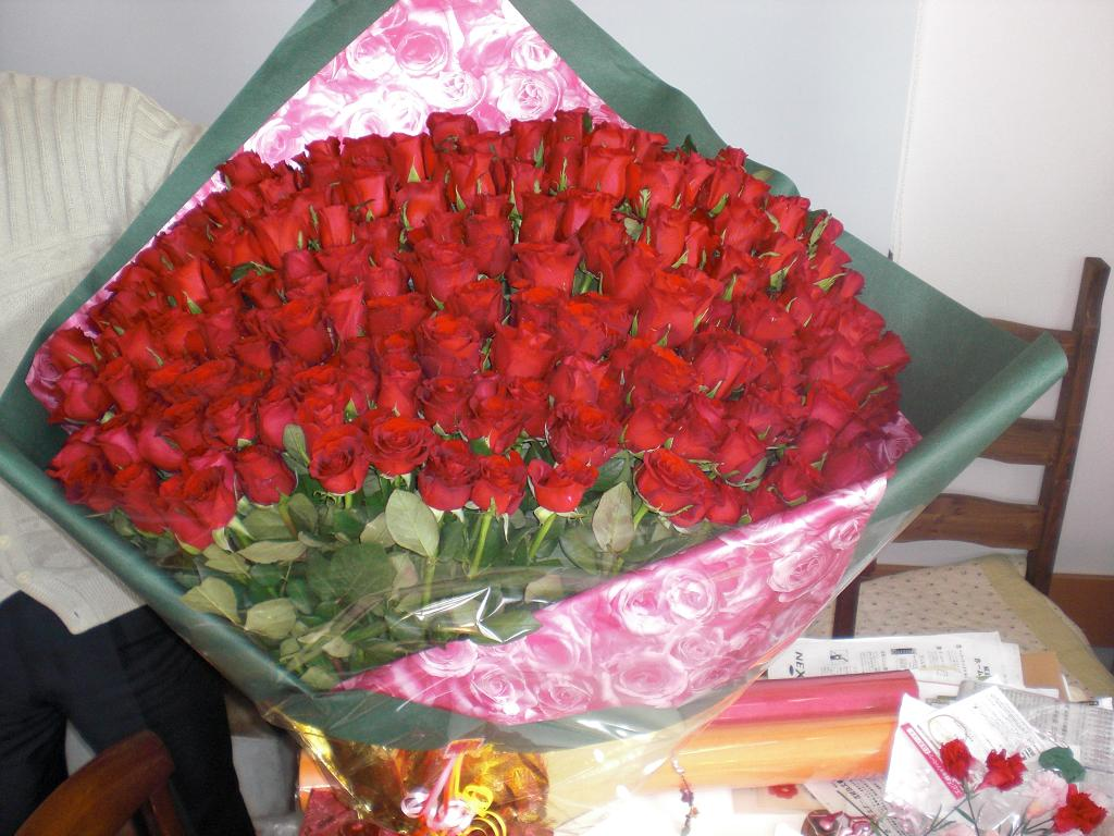 CMDID0033 薔薇の花束